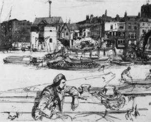 Black Lion Wharf — Джеймс Эббот Макнил Уистлер