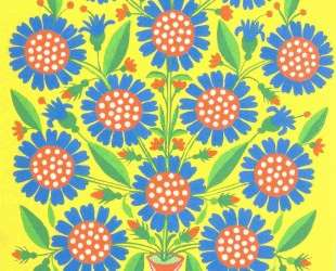 Blue-Eyed Flowers — Мария Примаченко