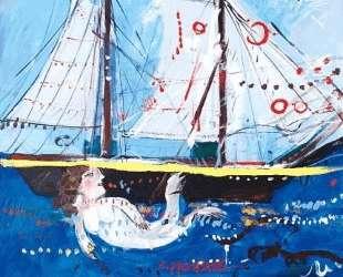 Boat and mermaid — Димитрис Митарас