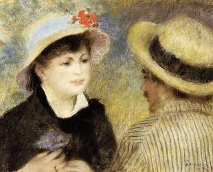 Boating Couple (Aline Charigot and Renoir) — Пьер Огюст Ренуар