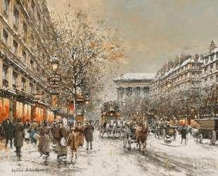 Boulevard de la Madeleine — Антуан Бланшар