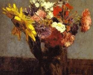 Bouquet of Flowers — Анри Фантен-Латур