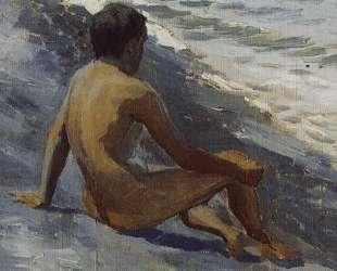 Мальчик на берегу моря — Виктор Борисов-Мусатов