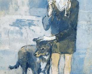 Boy with a Dog — Пабло Пикассо