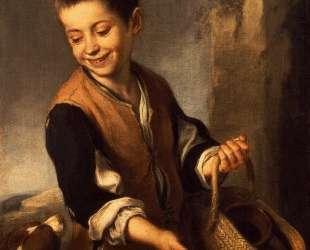 Boy with a Dog — Бартоломе Эстебан Мурильо