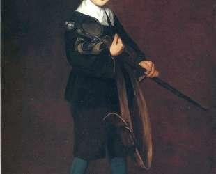 Boy with a sword — Эдуард Мане