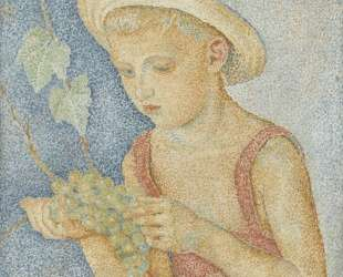 Boy with Grapes — Маревна