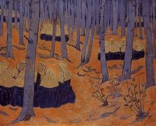 Breton Women, the Meeting in the Sacred Grove — Поль Серюзье