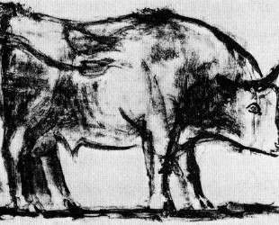 Bull (plate I) — Пабло Пикассо