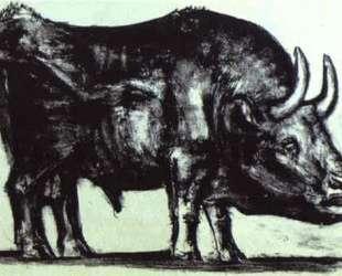Bull (plate II) — Пабло Пикассо