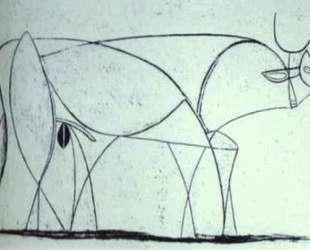 Bull (plate IX) — Пабло Пикассо