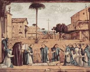 Burial of St. Jerome — Витторе Карпаччо