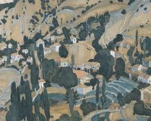 Burnt Village in Mytilini — Спирос Папалукас