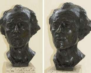 Bust of Gustav Mahler — Огюст Роден