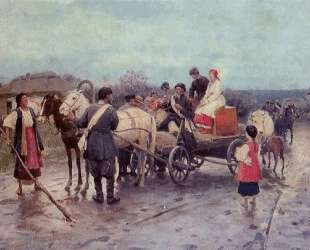 Buying out the Bride — Николай Пимоненко