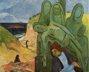 Бретонская Голгофа — Поль Гоген