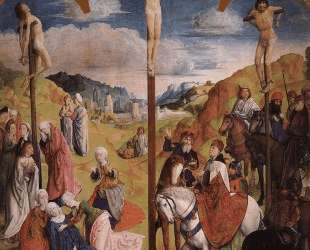 Calvary Triptych (Central panel) — Хуго ван дер Гус