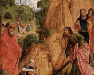 Calvary Triptych (left panel) — Хуго ван дер Гус