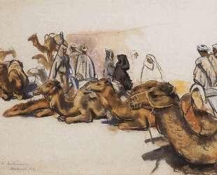 Верблюды — Зинаида Серебрякова