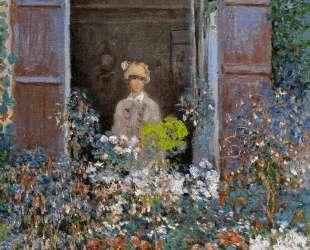 Камилла Моне у окна, Аржантёй — Клод Моне