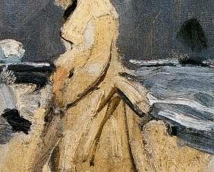 Камилла на побережье — Клод Моне