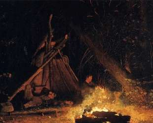 Camp Fire — Уинслоу Хомер