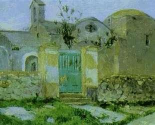 Capri. Entrance to Monastery. — Михаил Нестеров