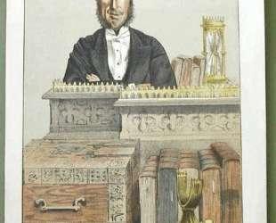 Caricature of John George Dodson M. P. — Джеймс Тиссо
