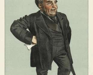 Caricature of John Pender — Джеймс Тиссо
