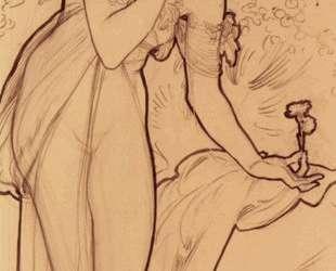 Carnation — Альфонс Муха
