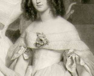 Caroline Elisabeth de Lagrange — Франц Ксавер Винтерхальтер