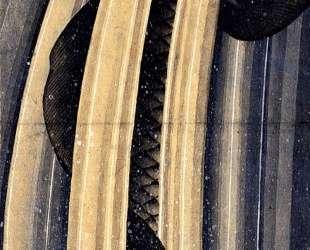 Carp leaping up a cascade — Кацусика Хокусай
