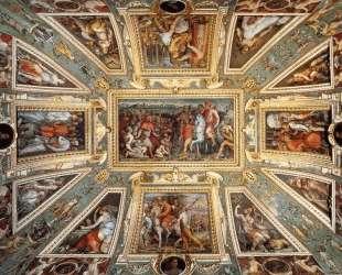 Ceiling decoration Palazzo Vecchio, Florence — Джорджо Вазари