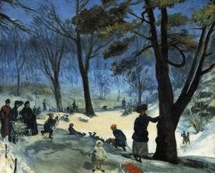 Central Park in Winter — Уильям Джеймс Глакенс