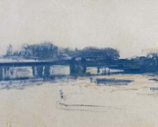 Мост Чаринг-Кросс (этюд) — Клод Моне