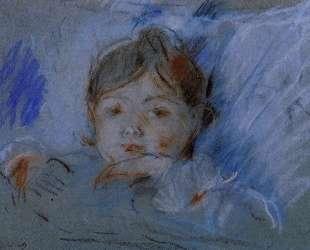 Child in Bed — Берта Моризо
