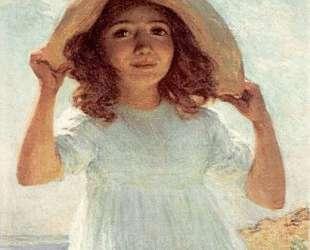 Child in Sunlight — Уиллард Меткалф
