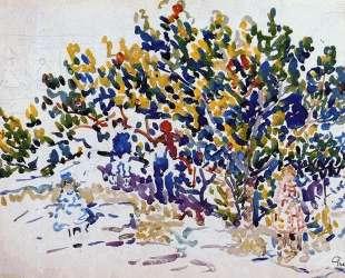 Children in the Tree — Морис Прендергаст