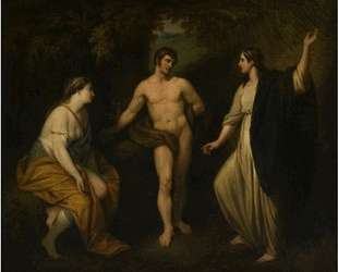 Choice of Hercules between Virtue and Pleasure — Бенджамин Уэст