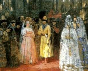 Выбор царской (великокняжеской) невесты — Илья Репин