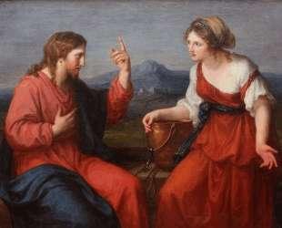 Christ and the Samaritan woman at the well — Ангелика Кауфман