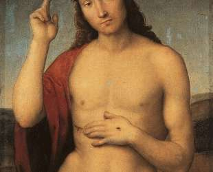 Christ Blessing — Рафаэль Санти