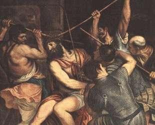 Христос коронованный терновым венцом — Ганс Мемлинг