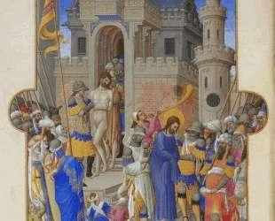 Christ Leaving the Praetorium — Братья Лимбург