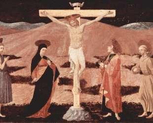 Христос на кресте — Паоло Уччелло