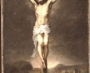 Christ on the Cross — Бартоломе Эстебан Мурильо