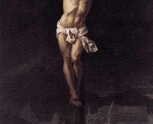Христос на кресте — Жак Луи Давид