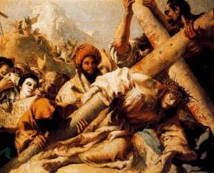 Christ's Fall on the way to Calvary — Джованни Доменико Тьеполо