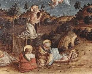 Christ's prayer on Oelber — Карло Кривелли