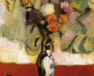 Chrysanthemums in a Chinese Vase — Анри Матисс
